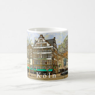 Heumarkt square in Cologne. Coffee Mug