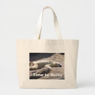 Heure de détendre sacs
