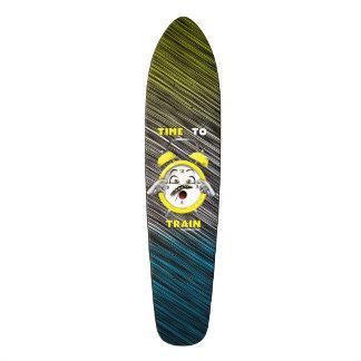 heure Tri colorée de former la planche à roulettes Skateboard Old School 18,1 Cm
