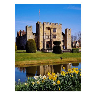 Hever Castle, Kent flowers Postcard