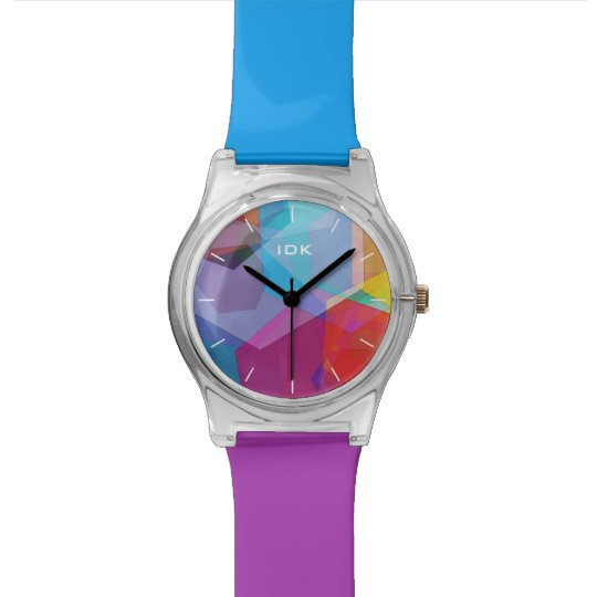 HEX COLORS | bright abstract design Watch
