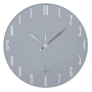 Hexadecimal Geek (narrow) Large Clock
