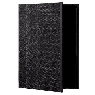 HEXAGON1 BLACK MARBLE & BLACK WATERCOLOR POWIS iPad AIR 2 CASE