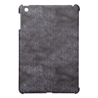 HEXAGON1 BLACK MARBLE & BLACK WATERCOLOR (R) COVER FOR THE iPad MINI