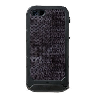 HEXAGON1 BLACK MARBLE & BLACK WATERCOLOR (R) INCIPIO ATLAS ID™ iPhone 5 CASE