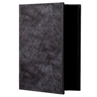 HEXAGON1 BLACK MARBLE & BLACK WATERCOLOR (R) POWIS iPad AIR 2 CASE