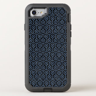 HEXAGON1 BLACK MARBLE & BLUE DENIM OtterBox DEFENDER iPhone 8/7 CASE