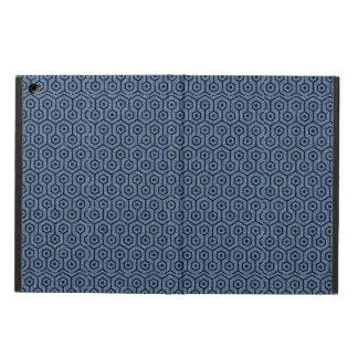 HEXAGON1 BLACK MARBLE & BLUE DENIM (R) CASE FOR iPad AIR