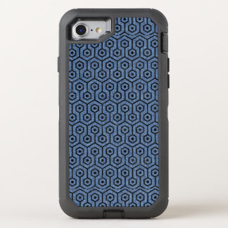 HEXAGON1 BLACK MARBLE & BLUE DENIM (R) OtterBox DEFENDER iPhone 8/7 CASE