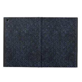 HEXAGON1 BLACK MARBLE & BLUE STONE COVER FOR iPad AIR