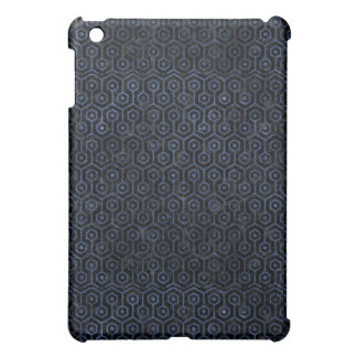 HEXAGON1 BLACK MARBLE & BLUE STONE COVER FOR THE iPad MINI