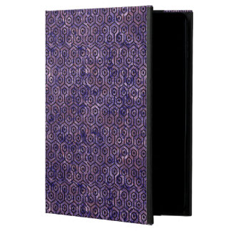 HEXAGON1 BLACK MARBLE & PURPLE MARBLE (R) POWIS iPad AIR 2 CASE