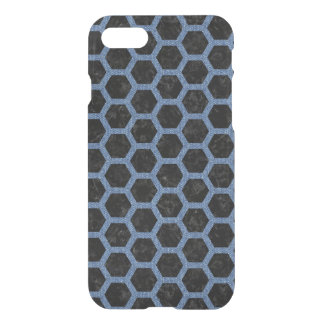 HEXAGON2 BLACK MARBLE & BLUE DENIM iPhone 8/7 CASE