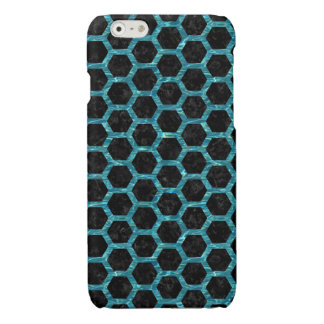 HEXAGON2 BLACK MARBLE & BLUE-GREEN WATER