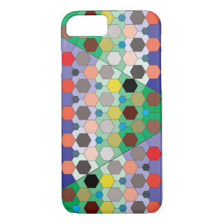 Hexagon Color Mosaic iPhone 7 Case
