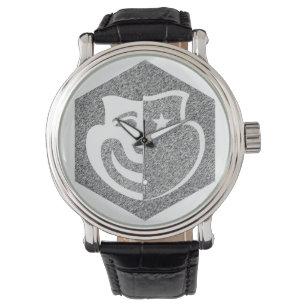 Hexagon Etched Logo Watch