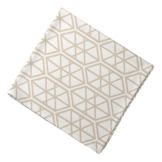 Hexagon Geometric Pattern Hexagonal Pastel Hexagon Bandana