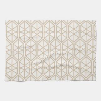 Hexagon Geometric Pattern Hexagonal Pastel Hexagon Kitchen Towel