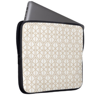 Hexagon Geometric Pattern Hexagonal Pastel Hexagon Laptop Sleeve