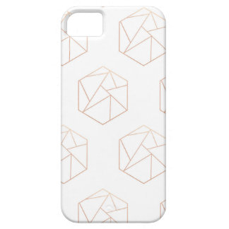 Hexagon geometric phone case
