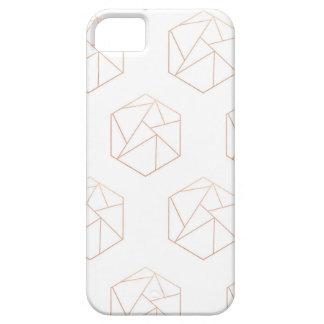Hexagon geometric phone case