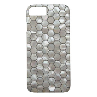 Hexagon Mother of Pearls Tile Patterns iPhone 7 Case