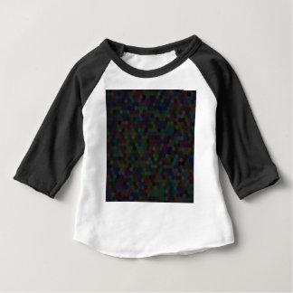 hexagon pattern baby T-Shirt