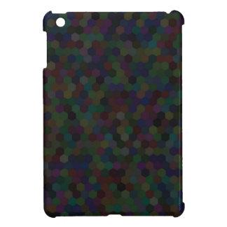 hexagon pattern iPad mini case