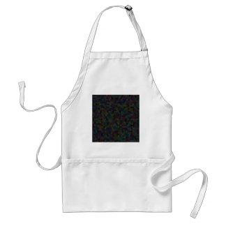hexagon pattern standard apron