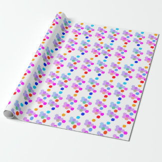 Hexagon Vibe Wrapping Paper