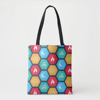Hexagonal Elements Game Inspired Tote