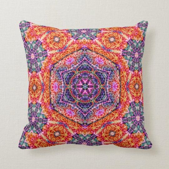 Hexagram of Persistence  Throw Pillow