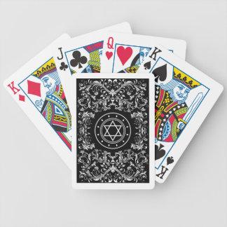 hexagram playing cards