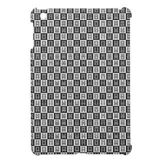 Hexagrams pattern iPad mini cover