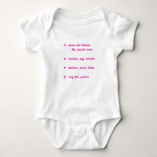 Hey BABY Girl Baby Bodysuit