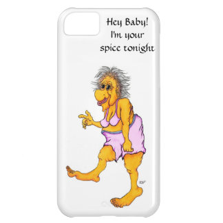 Hey Baby! I´m your spice tonight! iPhone 5C Covers