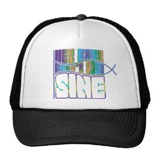 Hey Baby What's Your Sine Trucker Hat