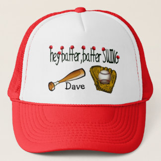 Hey Batter Batter Trucker Hat