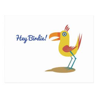 Hey Birdie Post Card