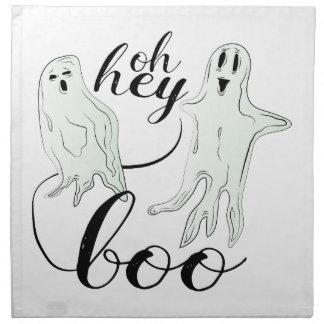 Hey Boo Cloth Napkin