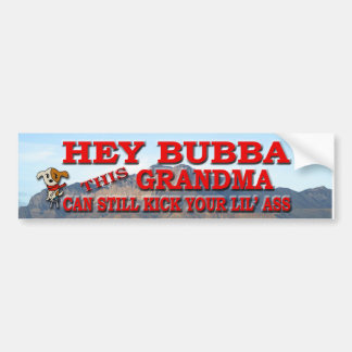 Hey Bubba Bumper Sticker