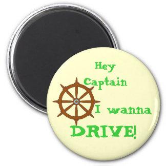 Hey Captain Yellow Magnet