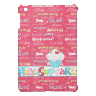 Hey Cupcake -  Pink Yum Cover For The iPad Mini
