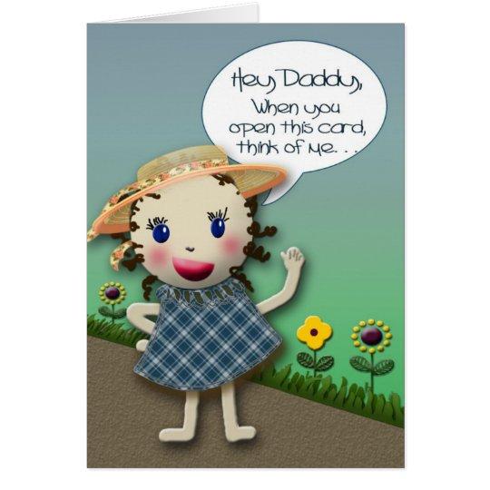 Hey Daddy - Birthday Card