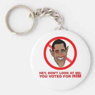 Hey, don't look at me: you voted for HIM Basic Round Button Keychain