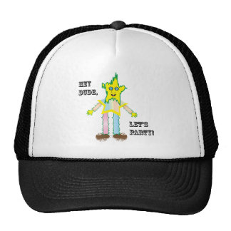 Hey Dude Let's Party.ai Trucker Hat