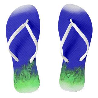 Hey Earth Flip Flops