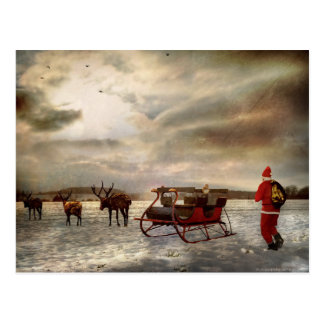 """""""Hey, Get Back Here!"""" . . . . A Christmas Boycott Postcard"""