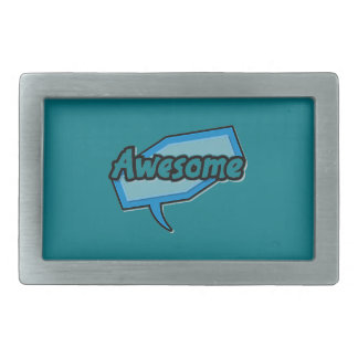 Hey Girl Rectangular Belt Buckles