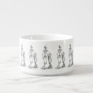 Hey Girl vintage skeleton Chili Bowl